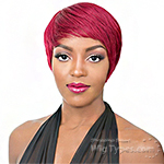 It's a Cap Weave 100% Human Hair Wig - BELLE AMI