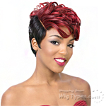 It's a wig Synthetic Wig - CHI  (Real Hair Line Part)