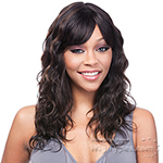 It's a Cap Weave - 100% Remy Human Hair Wig - REMI GABRIELLE