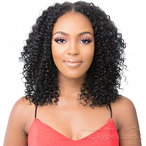 It's A Wig 100% Human Hair Wig - HH U PART DEEP WAVE