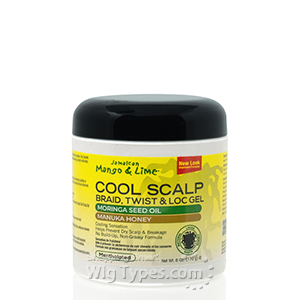 Jamaican Mango & Lime Cool Scalp Braid, Twist & Lock Gel 6oz