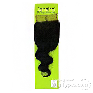 Janeiro 100% Virgin Brazilian Remy Hair 4x4 HD Transparent Lace Closure - BODY WAVE