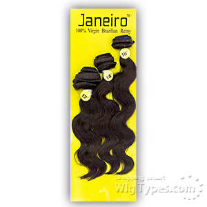 Janeiro 100% Virgin Brazilian Remy Hair Weave - BODY WAVE 3PCS (10/12/14)
