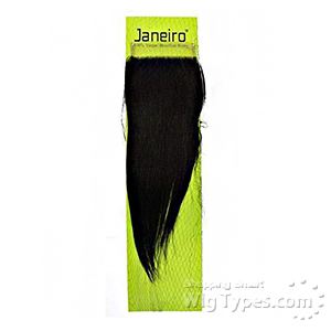 Janeiro 100% Virgin Brazilian Remy Hair HD Transparent Lace Closure - STRAIGHT
