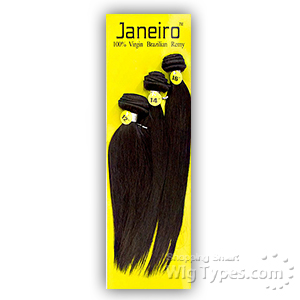 Janeiro 100% Virgin Brazilian Remy Hair Weave - STRAIGHT 3PCS (16/18/20)