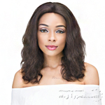 Janet Collection 100% Natural Virgin Remy Human Hair 360 Circular Frontal Lace Wig - 360 LACE NATURAL WIG 14