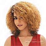 Janet Collection Human Hair Blend Brazilian Scent Lace Front Wig - AGNES