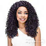 Janet Collection Human Hair Blend Brazilian Scent Lace Front Wig DOMINI