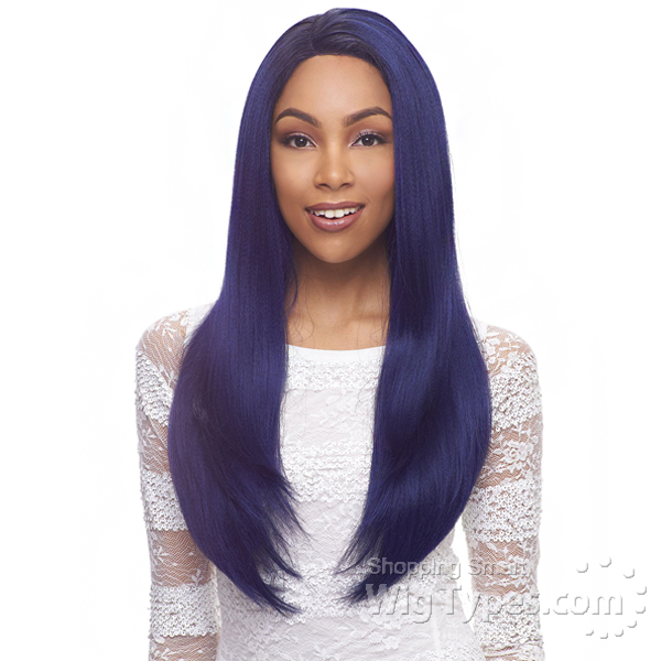 Janet Collection Human Hair Blend Brazilian Scent Lace Front Wig