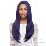 Janet Collection Human Hair Blend Brazilian Scent Lace Front Wig - ALEX