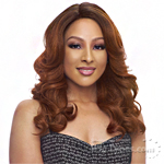 Janet Collection Human Hair Blend Brazilian Scent Lace Front Wig - ALYSIA
