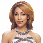 Janet Collection Human Hair Blend Brazilian Scent Lace Front Wig - ASHA