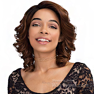 Janet Collection Human Hair Blend Brazilian Scent Wig - JANEL (pre-tweezed part)
