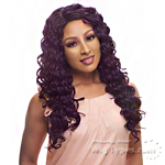 Janet Collection Human Hair Blend Brazilian Scent Lace Front Wig - EMILY