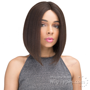 Janet Collection Human Hair Blend Brazilian Scent Pre Tweezed Part Wig - ENDAL