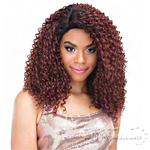 Janet Collection Human Hair Blend Brazilian Scent Lace Front Wig - HAILEY