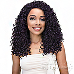 Janet Collection Human Hair Blend Brazilian Scent Lace Front Wig - GLAM (pre-tweezed part)