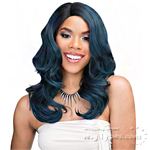 Janet Collection Human Hair Blend Brazilian Scent Lace Front Wig - LUDIAN