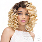 Janet Collection Human Hair Blend Brazilian Scent Lace Front Wig - NAOMI