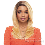 Janet Collection Human Hair Blend Brazilian Scent Lace Front Wig - RAY