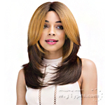 Janet Collection Human Hair Blend Brazilian Scent Lace Front Wig - SAMALA