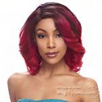 Janet Collection Human Hair Blend Brazilian Scent Lace Front Wig - LAUREN