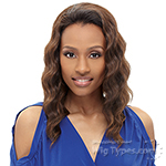 Janet Collection Easy Wear Synthetic Half Wig - ACACIA