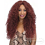Janet Collection Natural Super Flow Deep Part Lace Wig - CAPRI