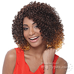Janet Collection Natural Super Flow Deep Part Lace Wig - JOYA