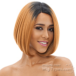 Janet Collection Natural Super Flow Deep Part Lace Wig - LADY