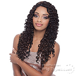 Janet Collection Natural Super Flow Deep Part Lace Wig - MONICA