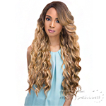 Janet Collection Natural Super Flow Deep Part Lace Wig - ALICE