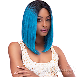 Janet Collection Synthetic Hair Color Me Lace Front Wig - CHIC