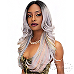 Janet Collection Synthetic Hair Color Me Lace Front Wig - PRETTY