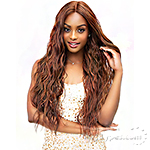 Janet Collection Synthetic Extended Deep Part Lace Wig - MICHELLE