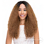 Janet Collection Natural Super Flow Deep Part Lace Wig - FRENCH