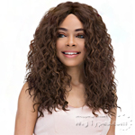 Janet Collection Natural Super Flow Deep Part Lace Wig - GLORIA