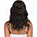 Janet Collection 100% Natural Virgin Remy Human Hair 4X4 Deep Part Lace Wig - Natural 18 (free part)