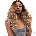 Janet Collection Synthetic Extended Deep  Part Lace Wig - LACE GABRIELA