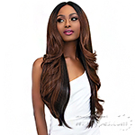 Janet Collection Synthetic Extended Deep  Part Lace Wig - JUNNY