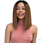 Janet Collection Synthetic Extended Deep Part Lace  Wig - BAYLEE