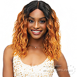 Janet Collection Synthetic Extended Deep Part Lace Wig - CAMPBELL