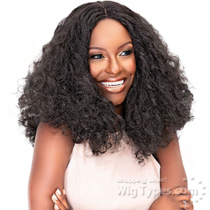 Janet Collection Natural Me Synthetic Hair Lace Wig - JENNA