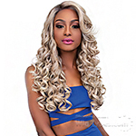 Janet Collection Synthetic Melt Extended Deep  Part Lace Wig - JULIE