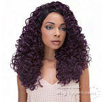 Janet Collection Princess Human Hair Blend Lace Wig - KAYLEE (13x4 Lace Frontal Closure Wig)