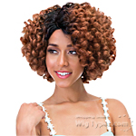 Janet Collection Natural Super Flow Deep Part Lace Wig - LILIAN