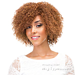 Janet Collection Natural Super Flow Deep Part Lace Wig - MARGARET