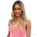 Janet Collection Synthetic Melt Extended Part Lace Wig - MERCY