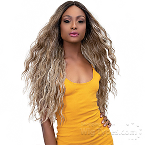 Janet Collection Synthetic Hair Color Me Lace Front Wig - MIA