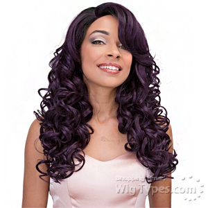 Janet Collection Princess Human Hair Blend Lace Wig - MINKY (13x4 Lace Frontal Closure Wig)